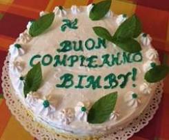 Torta Buon Compleanno Bimby alla menta