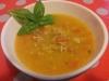 Zuppa di pollo e peperoni al curry