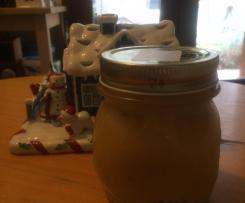 """Confettura di mele """"Bratapfel"""" con marzapane"""