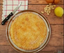 Sbriciolata alle mandorle e limone (senza lattosio)