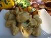 gnocchi con zucca e castagne