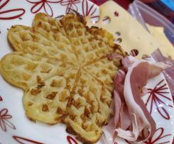 Waffle di patate senza glutine