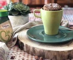 MUG CAKE MELA E CANNELLA (senza zucchero,latte,burro)
