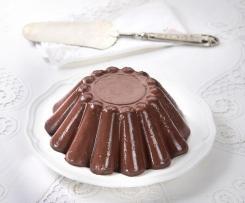 Budino cioccolato senza uova (variante con latte di soia)
