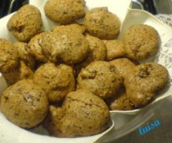 Biscotti morbidi (senza latte, uova e glutine)
