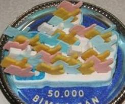 TORTA 50.000 BIMBY FAN