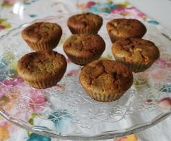 Muffin Bimby al cioccolato bianco e pistacchi