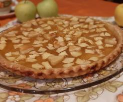 Crostata di mele e marmellata senza burro (contest mele)