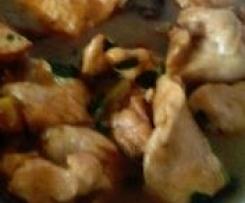 Spezzatino di pollo profumato