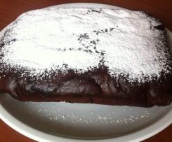 Torta al cioccolato cotta a Vapore