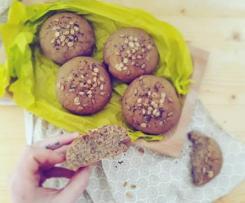 Pane 100% di segale con semi ed avena