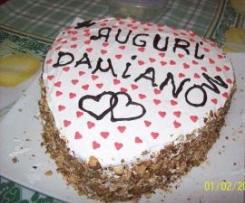 torta cuore d'amore by corrada