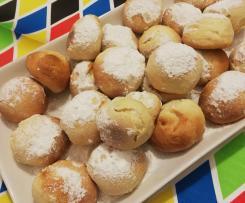 Castagnole di Carnevale ( anche al forno!) - con variante più leggera