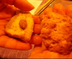 Biscotti semintegrali con fruttosio