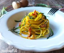 Carbonara con agretti