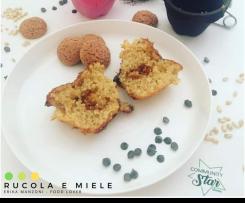 Cupcakes d'orzo con amaretto ed arancia *contest merende*