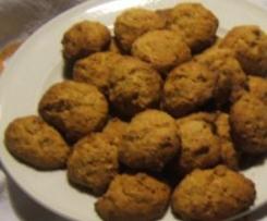 Biscotti per la colazione con farina integrale