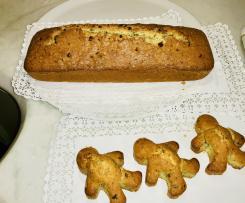 Plumcake alle nocciole e agli agrumi