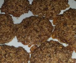 Biscotti leggeri ai semi di lino