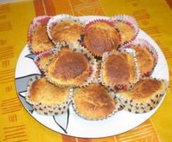 Muffin con cocco e albicocche secche