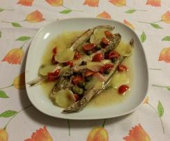 Luserna incovercià (gallinella incoperchiata) ricetta Chioggiotta