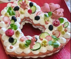 Cream tart salata (San Valentino)