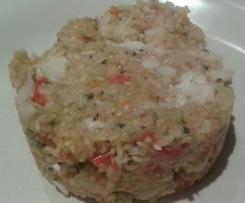 riso basmati verdure e merluzzo al varoma