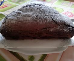 Tronchetto fondente - plumcake