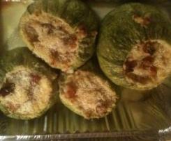 zucchine ripiene con pancetta
