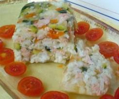 Marbré di merluzzo e salmone