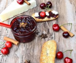 Chutney di Ciliegie aromatizzato (contest ciliegie