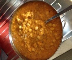 Zuppa di Ceci densa e cremosa:)