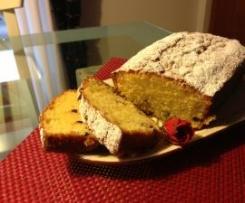 Plumcake all'aroma di arancia e gocce di cioccolato