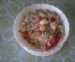 Insalata di riso in poche mosse.
