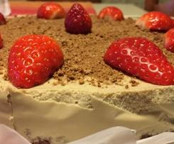 Cheesecake allo zabaione