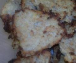 Polpette di cavolfiore e patate al forno