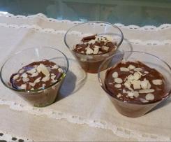 Mousse di ricotta e cacao ( veloce e leggera)
