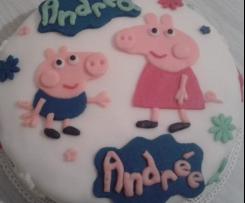 Torta di Peppa Pig