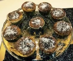 Muffin cocco/cioccolato e noci senza glutine
