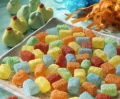 """Marshmallows (caramelle gommose zuccherrate) tratto dal libro """"Un due tre, invitiamo!"""""""