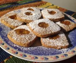 Biscotti integrali alla composta di arance