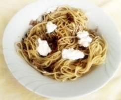 spaghetti poveretti cotti nel Bimby
