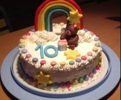 Torta Arcobaleno per compleanno