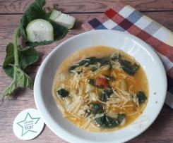 Minestra di zucchina lunga e tenerumi (tinniruma) -contest ricette di una volta