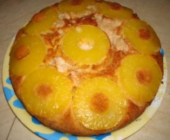 Torta golosa all' ananas