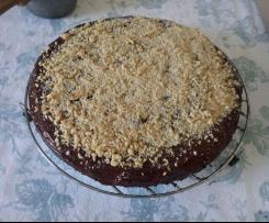 Torta cioccolato e arancia (senza glutine, zucchero, latticini)