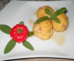 Gnocchi di Polenta con Bagoss e Salamella