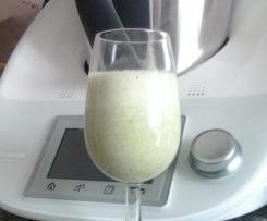 Frullato light di kiwi e yogurt magro