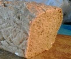 Pane con farina integrale e cereali