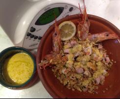 Insalsarda di mare con salsa semplice- contest insalate di pesce-